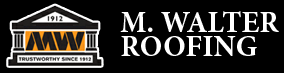 M. Walter Roofing logo